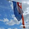 Ergens in Sleen: vlaggen