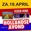 Hollandse Avond in Sleen met Robin Mink