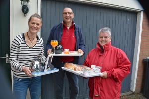 Ontbijt voor 80-jarige FC Emmen-fan