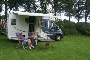 Camperplaats en trailcenter opent de deuren