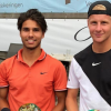 Max Houkes wint proftennistoernooi Alkmaar