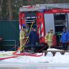 Brandweer helpt een handje