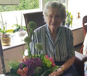 Roelie Klinkhamer 65 jaar lid Vrouwen van Nu