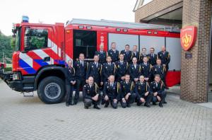 Jubilarissen en diplomeringen bij brandweer