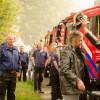 Brandweer neemt afscheid van burgemeester