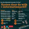 Karten door de wijk en informatiemarkt