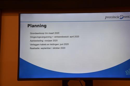 Presentatie N376 tijdsplanning