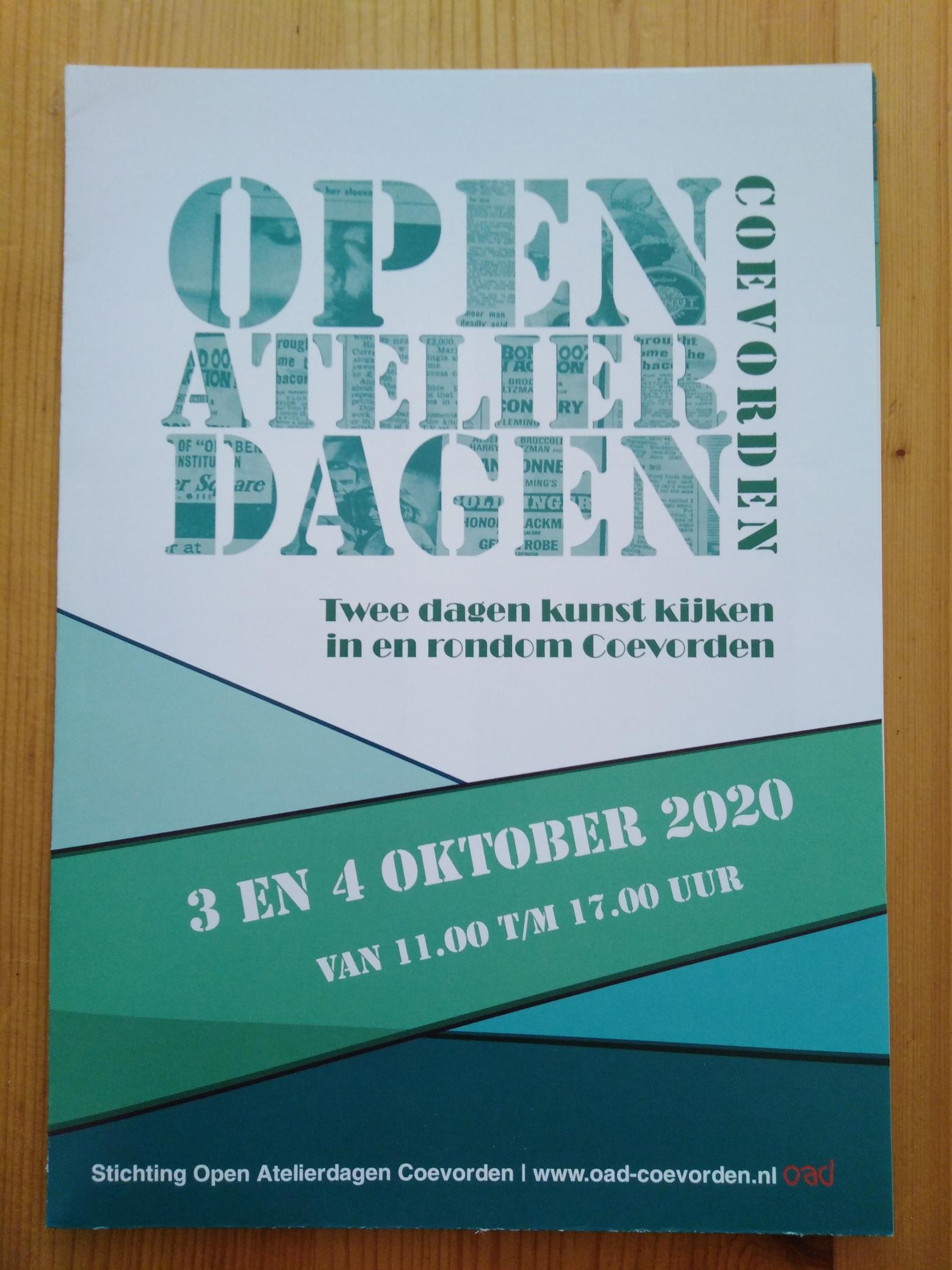 Open Atelier Dagen 2020